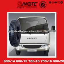 750-16 600-14 600-15 700-16 900-20 camión neumáticos con tubo y aleta