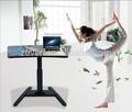 escritorio eléctrico de elevación de columna