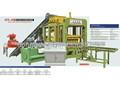 Qty6-15b entièrement automatisé de brique de ciment faisant la machine
