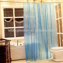 3d eva cortina de la ducha transparente cortina de la ducha