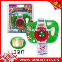 nuevo diseño de la función de la música los niños juguetes de plástico de la cámara