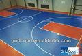 pisos cancha de baloncesto cubierta plástica