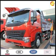 2014 grava del howo camión punta 6x4 300hp camión punta