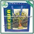 guangzhou fila material de los pp de la belleza hecha a mano reciclado pp bolsas tejidas