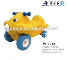 Jq-3042 clássico brinquedo plástico do carro jogar avião carro pequeno bebê brinquedo