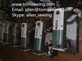 Buena calidad utilizados/segunda mano/viejo KASAI 1404 1508 1408 1412 especial máquina de coser industrial