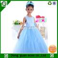 chica nueva flor de niños elegante princesa de vestidos de niñas vestidos