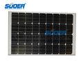 monoicrystalline células solares 100w 18v de la célula solar módulo