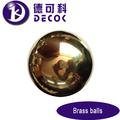 180mm de cobre hueco bolas de la mitad