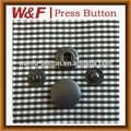 moda botón de la ropa broches de presión en la pistola de metal