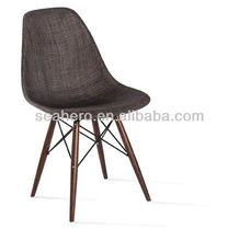 eames trenzado de plástico cubierta de la silla de comedor