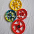 Pulgadas 12'' pequeñas de plástico llantas de bicicleta de