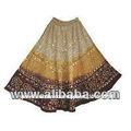 Tie dye& con bandhage tradicional elegante para mujer faldas largas//jaipur india hecho& tie dye ghaghara