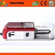 Precio de primera mano de color rojo de tabaco de liar máquinas para venta al por mayor, rodillo del tabaco