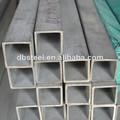 buena reputación 304l cuadrada de acero inoxidable hueco sección de la tubería