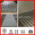 Corrugado de hierro con recubrimiento de zinc de chapa de acero/galvanizado hoja de techo