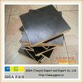 1220 * 2440 negro tablero de madera laminada