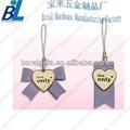 forma de corazón con arco adorno para el japonés y las correas de teléfono