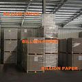 fuyang dúplex de papel gris de nuevo los productos de papel