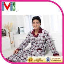fursuit pijama de invierno de los hombres de moda de edad pijamas