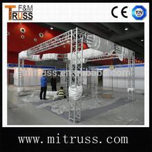 de aluminio de soporte de exhibición de arco armadura exposición exhibición de la exposición