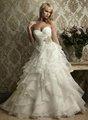 bola de vestidos de noiva vestido