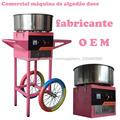 comercial máquina de algodão doce