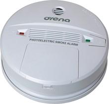 Autónomo detector de humo con batería de 9V