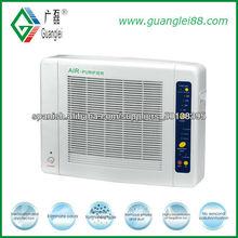 CE Rohs ionizador purificador de aire con filtro HEPA y activo del cartón y mando a distancia