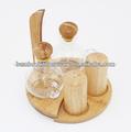 huile et vinaigre de bambou