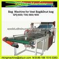 Sellado de la máquina para bolsas de chaleco y bolsas dcut