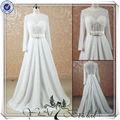 jj3522 mangas largas de novia árabe de punjab vestido de la boda vestidos de novia de la arabia saudita de la boda vestido