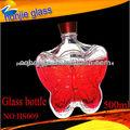 Made In China 2013 Hot venda personalizada borboleta de vidro vermelha garrafas de vinho para venda