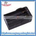 Li ion 18650 carregador de bateria recarregável 110v~240v preto