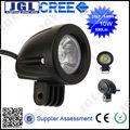 4x4 10w led worklight levou a condução de luz para a motocicleta offroad 4wd trator de trabalho da lâmpada