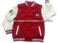 Estilo de la universidad falsa lana estilo del equipo universitario chaquetas del béisbol para los hombres