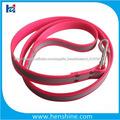 1 pulgada perro rosa reflectante correa TPU