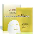 Renouveler blanc, cellules de la peau masque facial