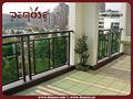 terraza de aluminio ronda balaustre