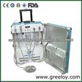 Unidades dentales portátiles usados con China Silla
