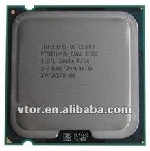 Buena calidad precio barato de intel pentium e5300 slgtl de doble núcleo 2.6 ghz lga775 intel cpu precio en china