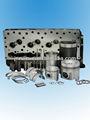 partes de motores de maquinaria de construcción, pistones, aros de pistón, pasador del pistón, bloque de cilindros