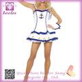 Diseño único caliente populares cosplay adorable marinero capitán traje para las mujeres PP9522