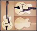 """16"""" de madera maciza guitarra jazz"""