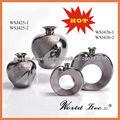 WSJ425-426-SGalvanizada color plata diseño clásico florero de cerámica