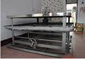 máquina de costura do colchão usado