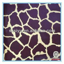 Zhejiang Shaoxing venta caliente del pvc de cuero para la caja de almacenaje