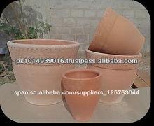 de terracota de arcilla de cerámica conjunto