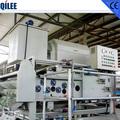 sauver filtre ceinture de l'eau pour la presse usine de lait