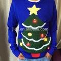unisex navidad puentes suéter con luces led parpadeante